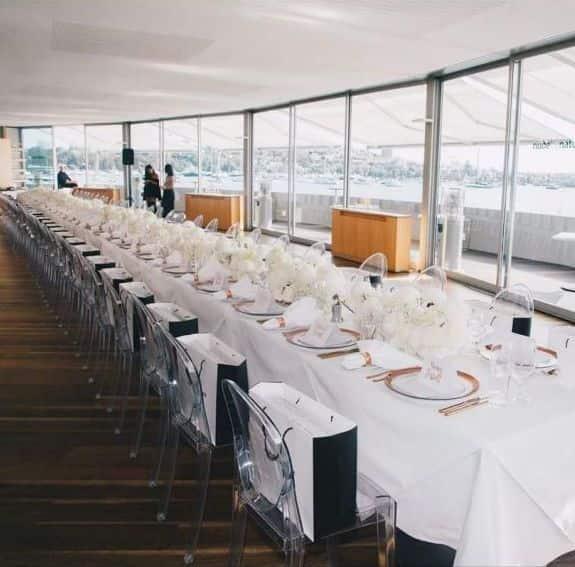 Alquiler de mesas de lino para eventos 4