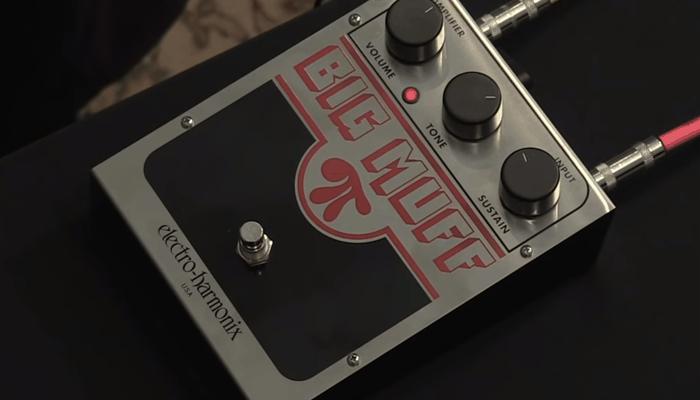 Revisión del pedal Electro-Harmonix Big Muff Pi Fuzz 1