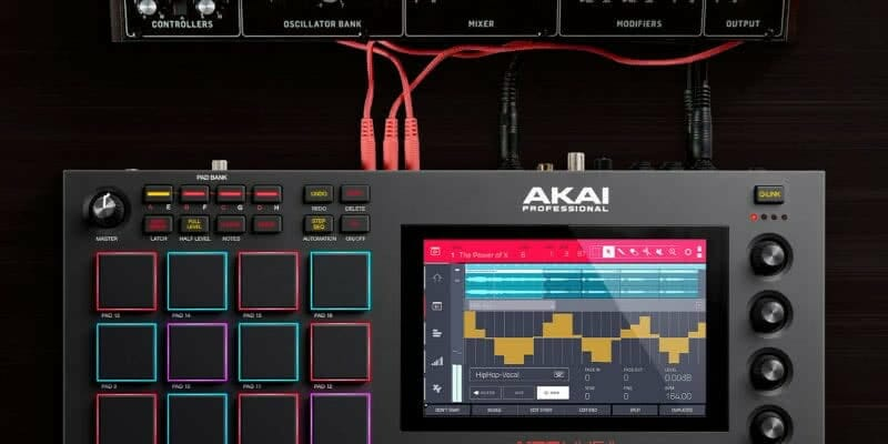 El nuevo MPC Live II de Akai: una herramienta independiente con monitores integrados 1