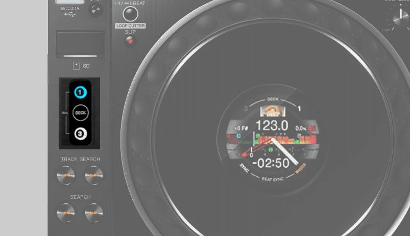 Modo de capa CDJ-3000