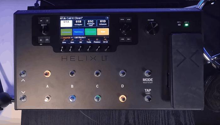 Helix LT Procesador de efectos de guitarra de 6 líneas 1