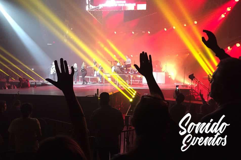 iluminacion para conciertos