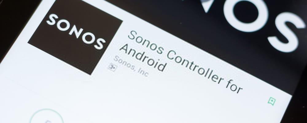 Aplicación Sonos
