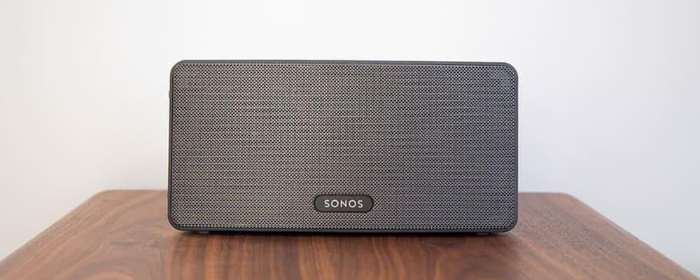 Altavoz negro Sonos