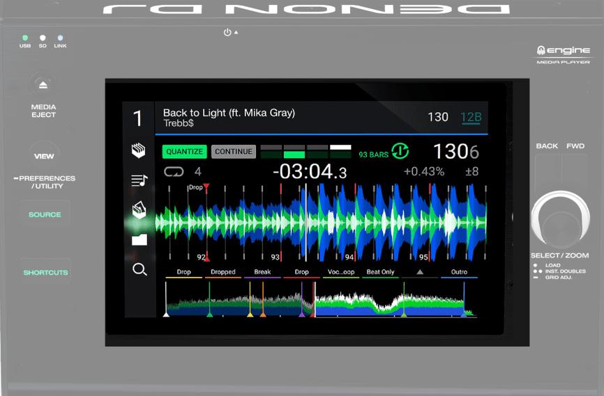 Conceptos futuros sobre equipos para DJ: Denon DJ SC4000 3