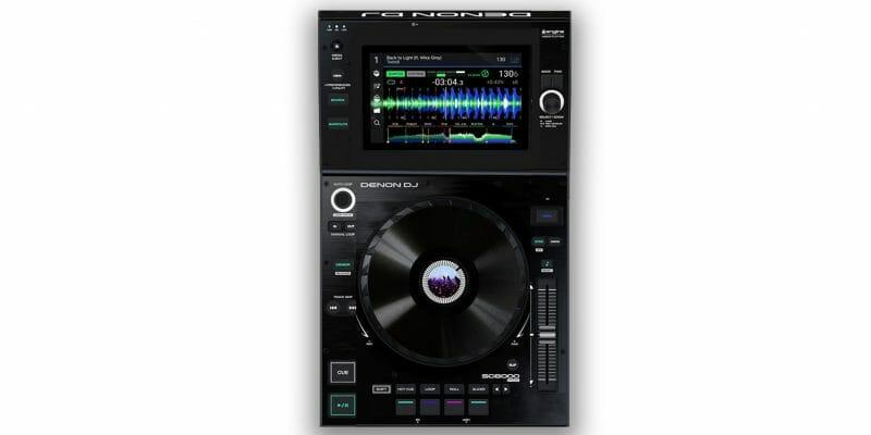 Conceptos futuros sobre equipos para DJ: Denon DJ SC4000 1