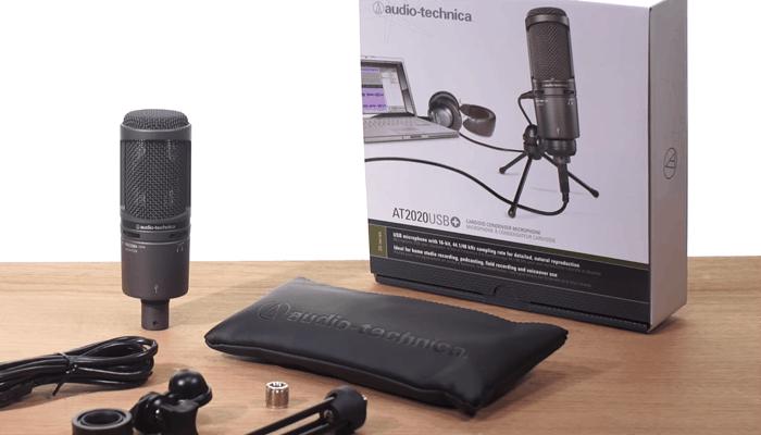AT2020 USB + micrófono de condensador cardioide 1