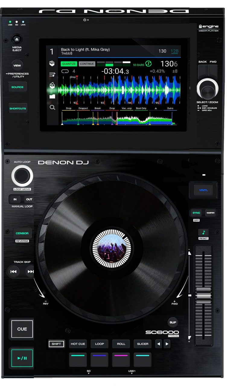 Conceptos futuros sobre equipos para DJ: Denon DJ SC4000 2