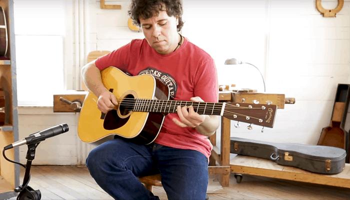 Martin D-28 Guitarra Natural 1