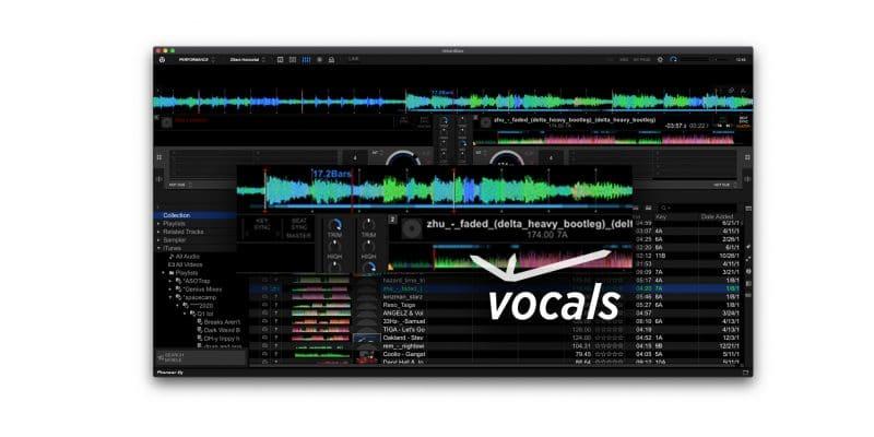 Rekordbox 6.0.1 detecta dónde están las voces en las pistas, agrega Auto Upload, soporte para Beatsource LINK 1