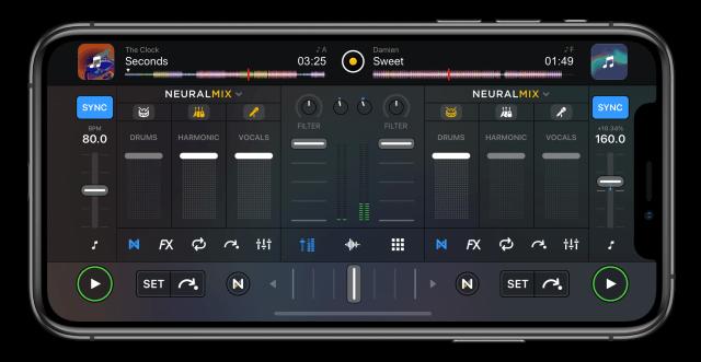 djay Pro AI: una nueva actualización de la aplicación Algoriddim permite a los <strong>Djs</strong> filtrar batería, armonías y voces 1