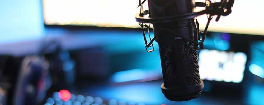 Micrófono de difusión