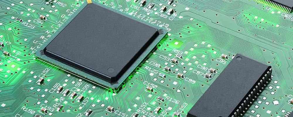 Placa base con procesador