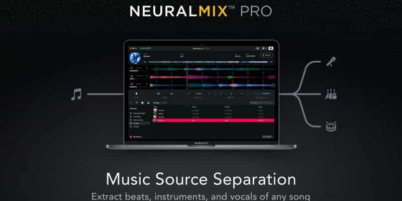 Algoriddim presenta Neural Mix Pro, una aplicación de edición de música basada en IA para productores 1