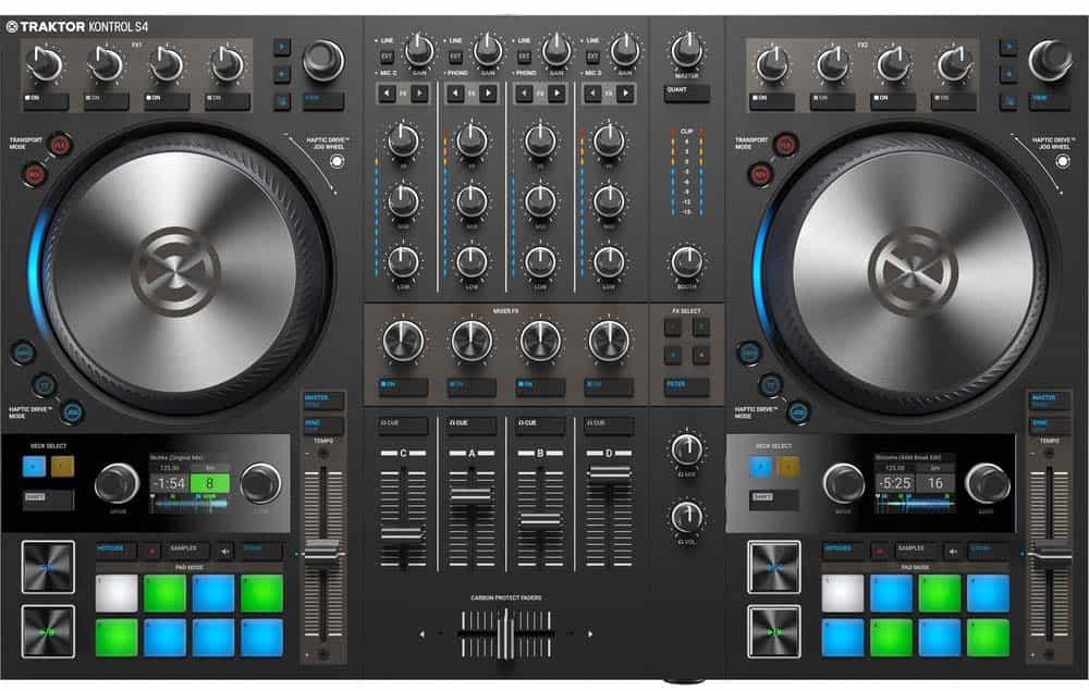 Los mejores controladores de DJ para scratching 5