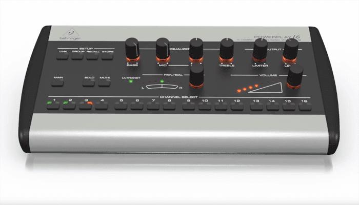 Revisión de 16 canales del Behringer Powerplay P16 M 1