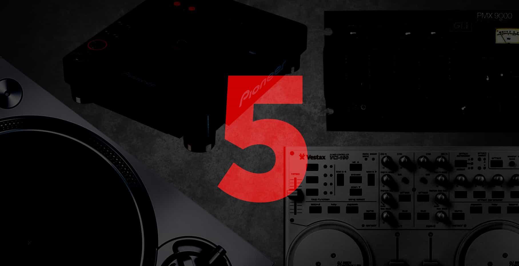 Los 5 productos que marcaron la historia del DJ 1