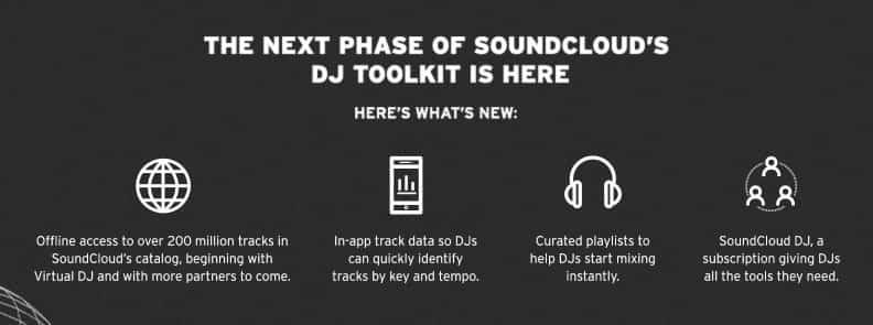 Los DJ ahora pueden transmitir sin conexión desde SoundCloud con una nueva suscripción 3