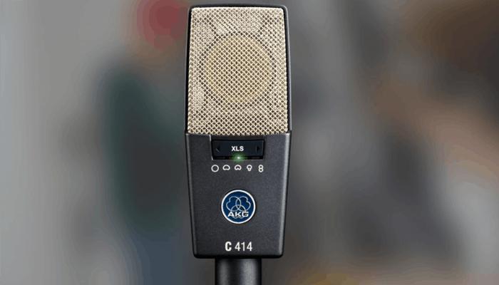 Revisión del micrófono de condensador AKG C414 XLS 1