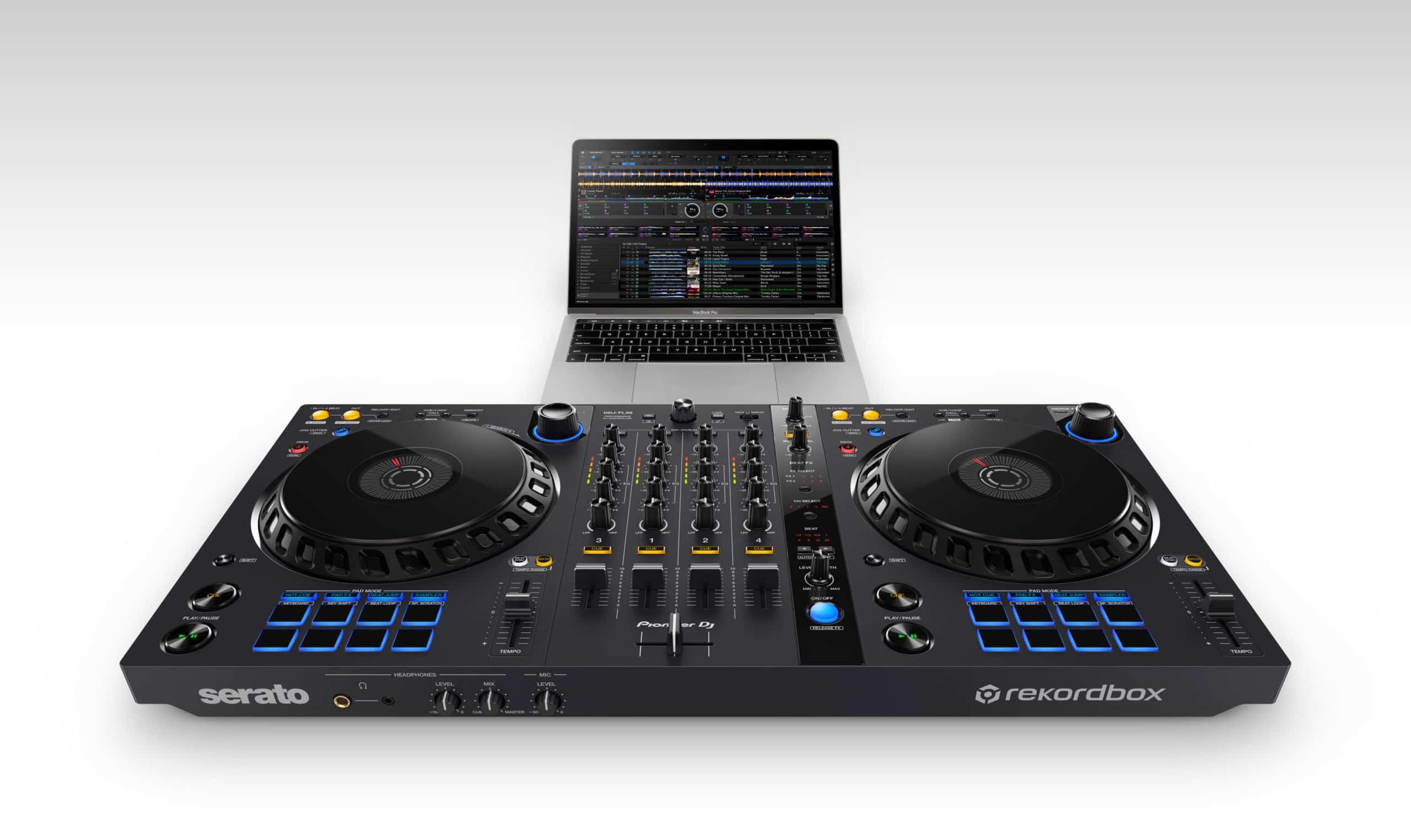 Nuevo DDJ-FLX6 de Pioneer DJ: un controlador Rekordbox / Serato DJ con nuevas funciones FX y scratch 1