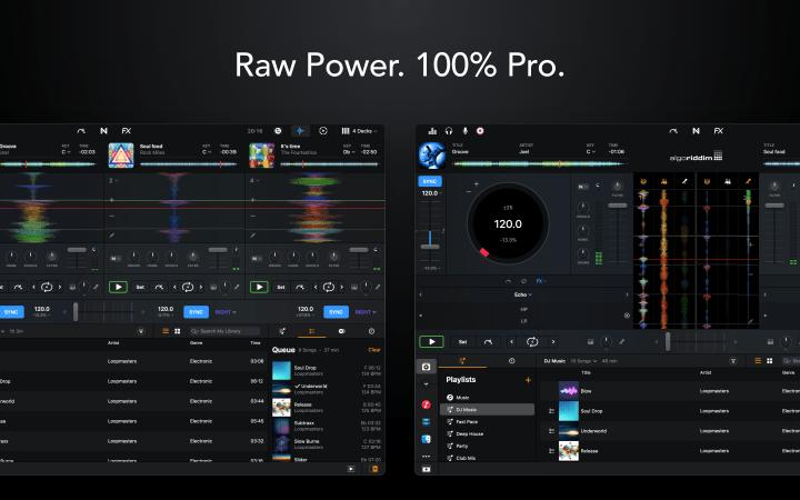 Algoriddim djay Pro AI llegó a macOS 1