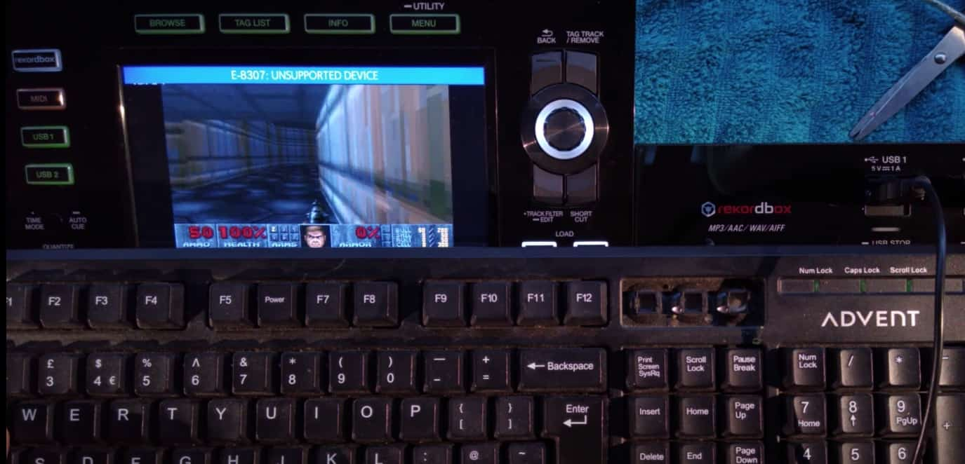 Sí, ahora puedes jugar DOOM en un XDJ-RX2 23