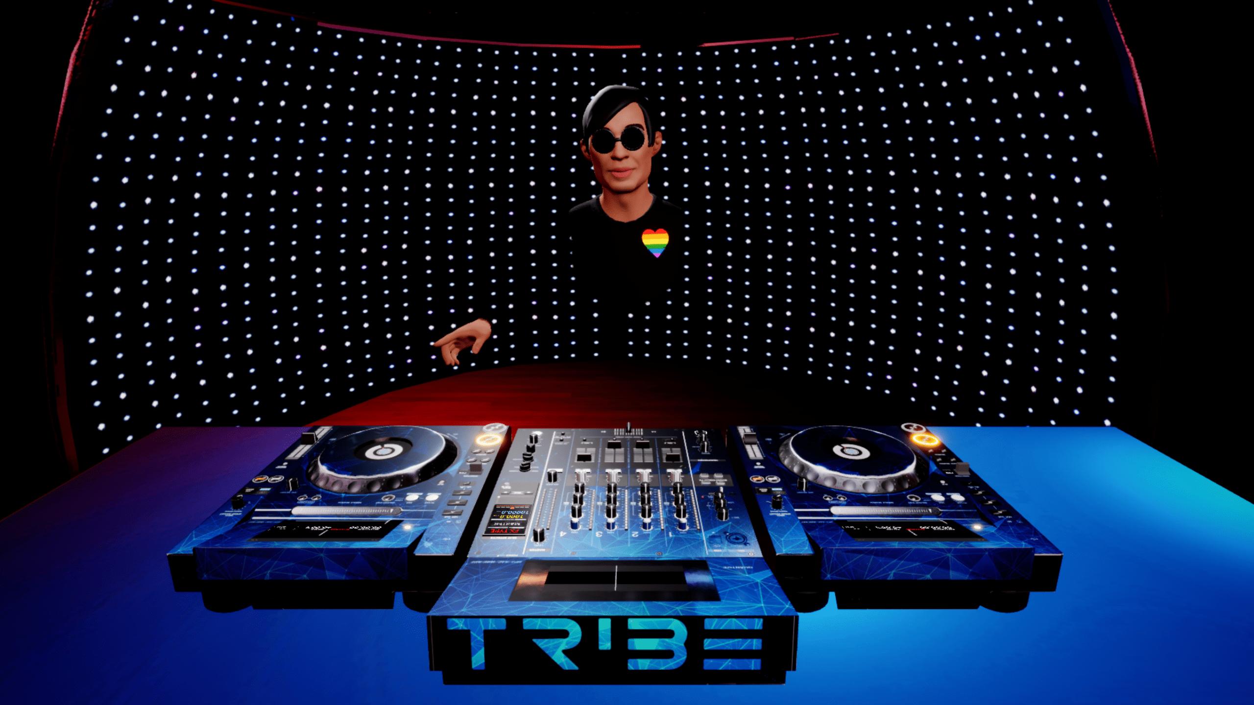 Transmita desde Beatport en realidad virtual con la nueva integración LINK de Tribe XR 8