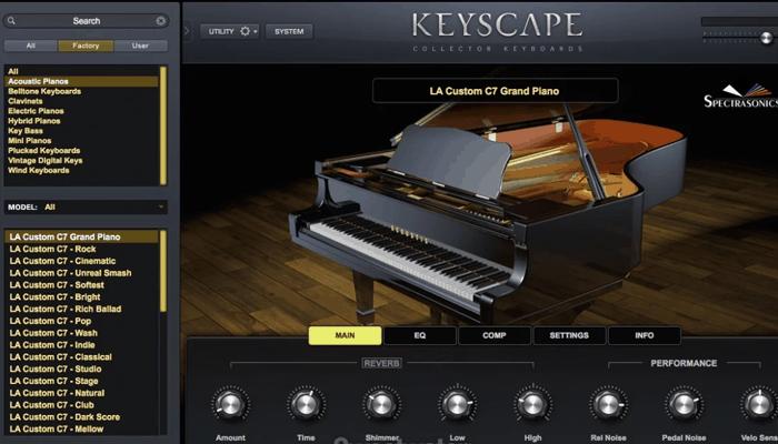 Análisis de los teclados del colector Keyscape de Spectrasonics 3