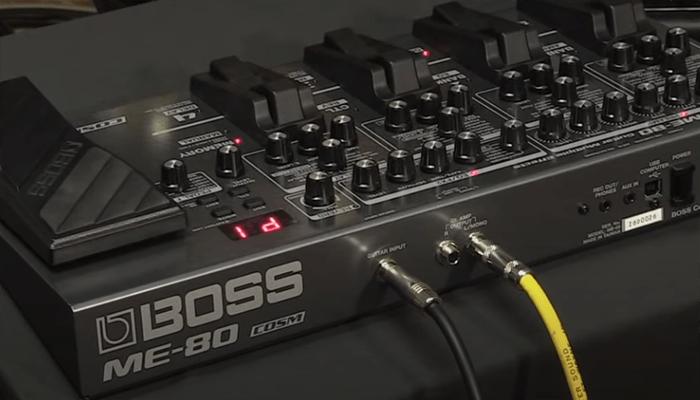 Pedal multiefectos Boss Me-80 5