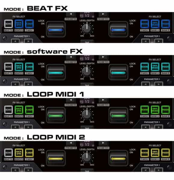 """DJM-S7 de DJ Pioneer: un mezclador de batalla de 2 canales con la nueva función """"Loop Midi"""" 2"""