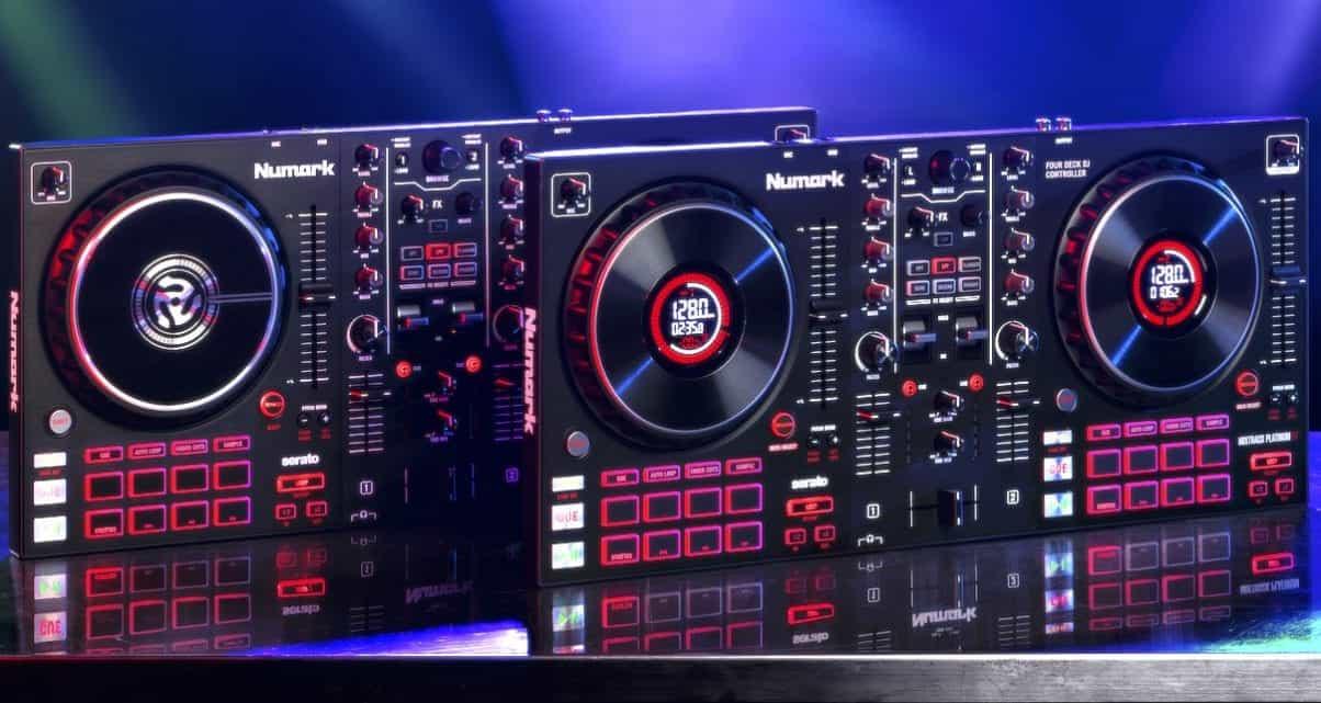 Numark Mixtrack Pro FX y Mixtrack Platinum FX 3