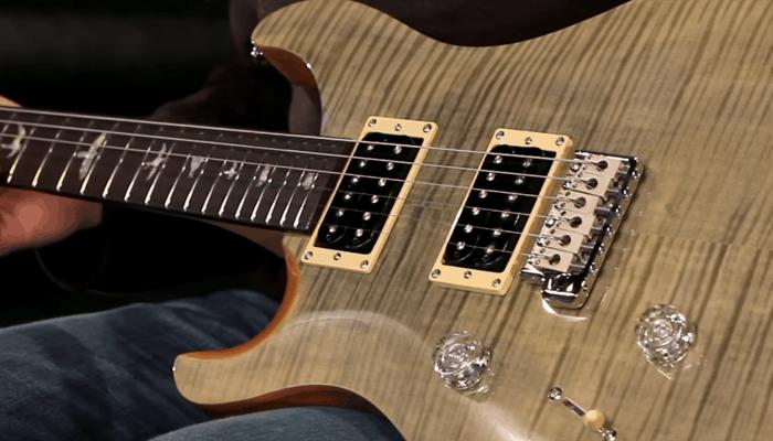 PRS SE Custom 24 Green Guitar Tramps 1