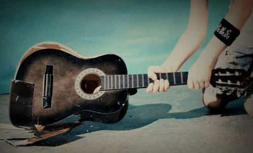 errores de guitarra para principiantes