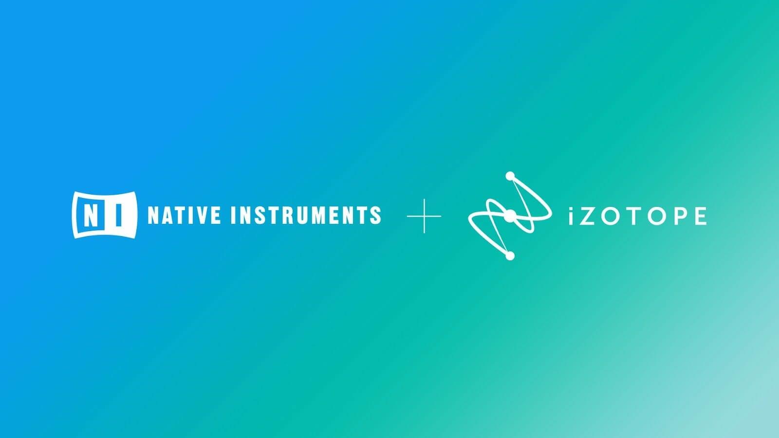 Native Instruments, iZotope se unen para enfocarse en construir una experiencia de creador perfecta 2