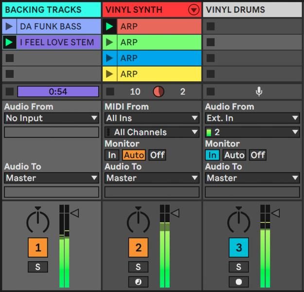 Síntesis de vinilo: reproduce + graba cadenas como sintetizadores con Ableton Live 11 2