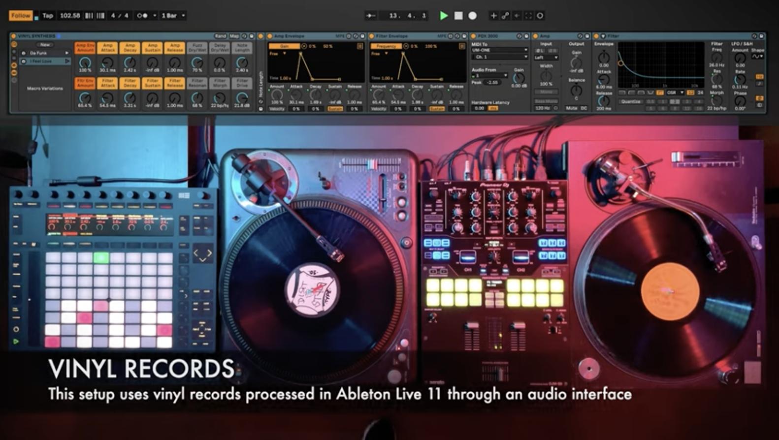 Síntesis de vinilo: reproduce + graba cadenas como sintetizadores con Ableton Live 11 6