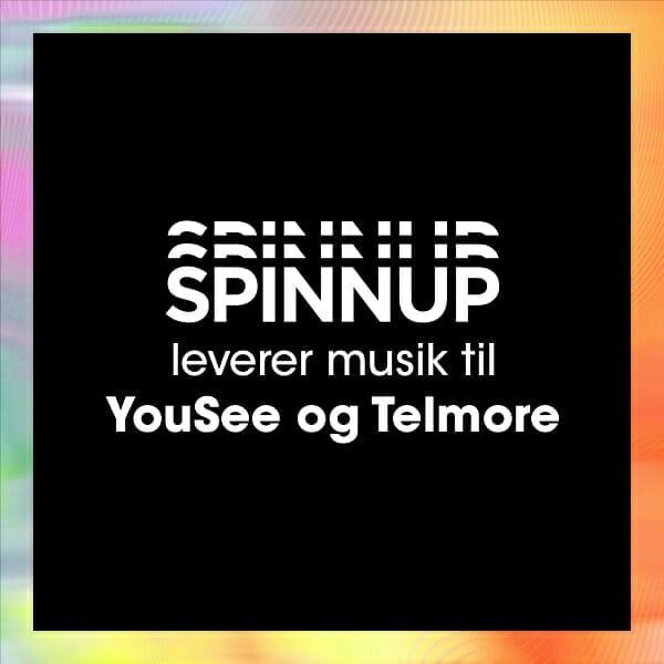Spinnup leverer nu din musik to YouSee og Telmore 8