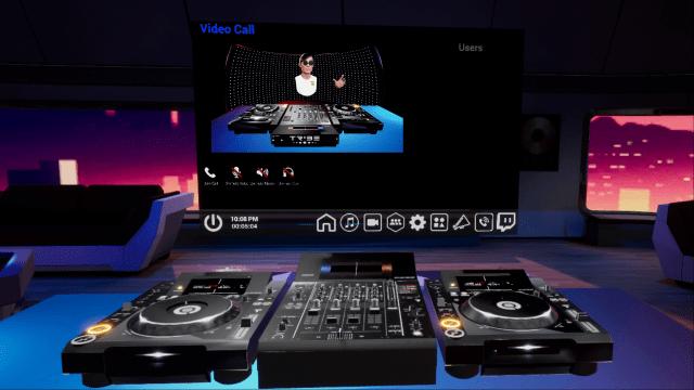 Gracias a Tribe XR y Pioneer DJ, puede reproducir el CDJ-3000s + DJM-900NXS2 en realidad virtual 1